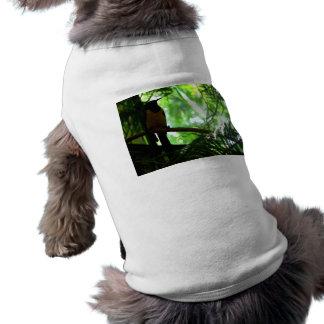 Bright Bird Sleeveless Dog Shirt