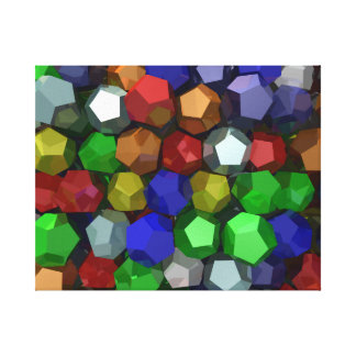 Bright Bling Gallery Wrap Canvas