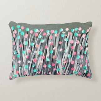 Bright Blooms Decorative Cushion