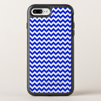 Bright Blue and White Chevron OtterBox Symmetry iPhone 8 Plus/7 Plus Case