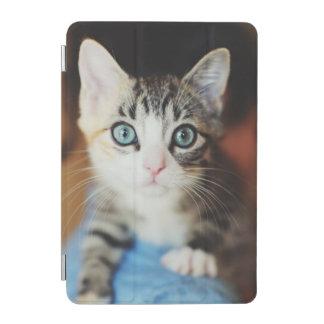 Bright Blue Eyed Kitten iPad Mini Cover
