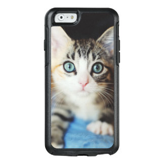 Bright Blue Eyed Kitten OtterBox iPhone 6/6s Case