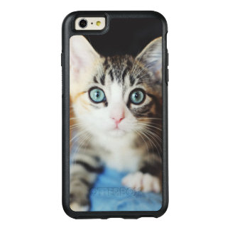 Bright Blue Eyed Kitten OtterBox iPhone 6/6s Plus Case