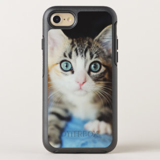 Bright Blue Eyed Kitten OtterBox Symmetry iPhone 8/7 Case