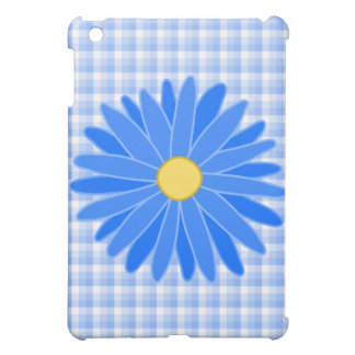 Bright Blue Flower. Cover For The iPad Mini