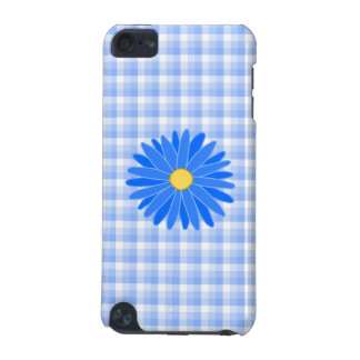 Bright Blue Flower. iPod Touch 5G Cover