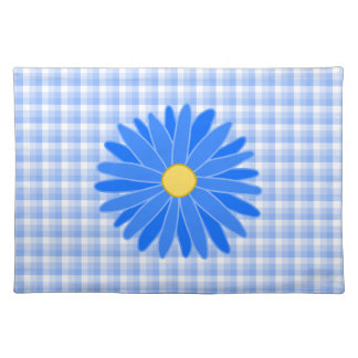 Bright Blue Flower. Placemat