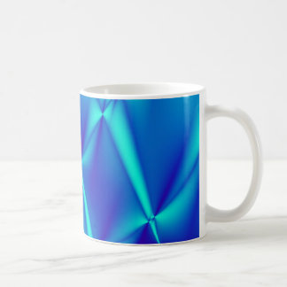 Bright Blue Fractal Coffee Mug