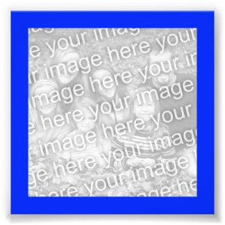 Bright Blue Frame Photo