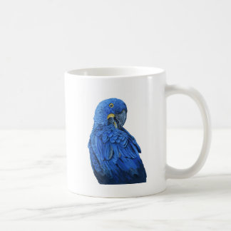 Bright blue Hyacinth Macaw Coffee Mug