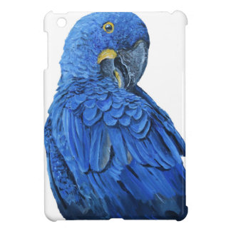 Bright blue Hyacinth Macaw Case For The iPad Mini