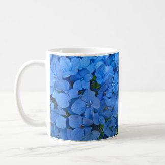 Bright Blue Hydrangea Coffee Mug