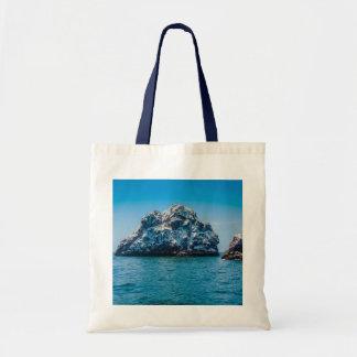 Bright Blue Ocean of Mazatlán Sinaloa Mexico Tote Bag