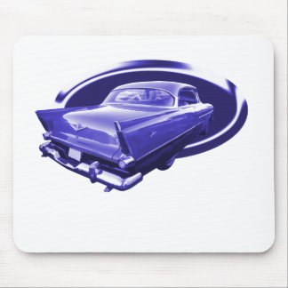 Bright Blue Plymouth Mouse Pad