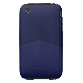 Bright blue point design tough iPhone 3 case
