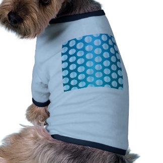 Bright Blue Polka Dot Pet T Shirt