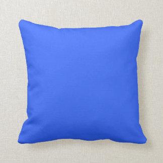 bright  blue  purplish pillow