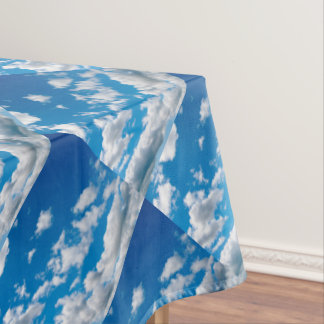 Bright Blue Sky Tablecloth