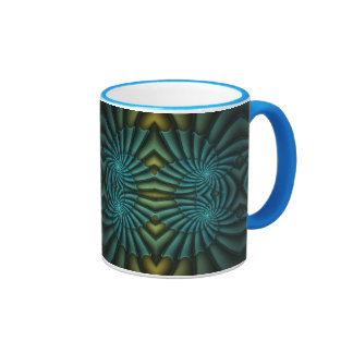 Bright Blue Tango Coffee Mug