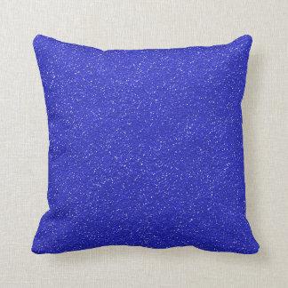 Bright Blue Textured Cushions