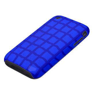 Bright Blue Tiles iPhone 3 Tough Case