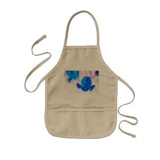Bright Blue Tulips Aprons