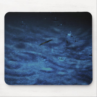 Bright Blue Water Mouse Pad