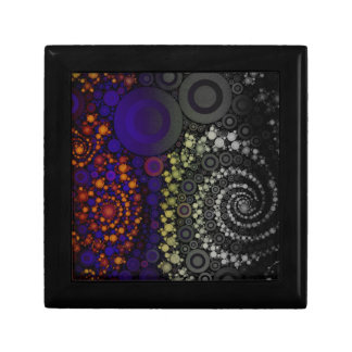 Bright Bold Abstract Trinket Boxes