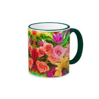 Bright Bouquet Floral Mug