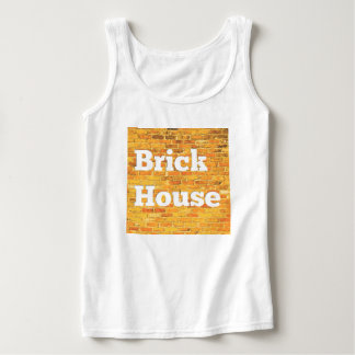 Bright Brick House Tank Top