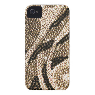 Bright brown crystal case iPhone 4 covers