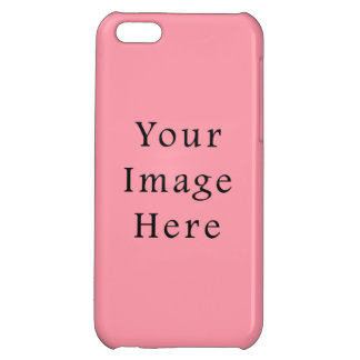 Bright Bubblegum Pink Color Trend Blank Template Cover For iPhone 5C