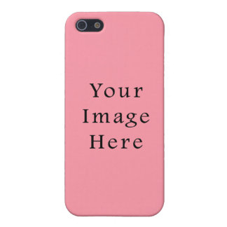 Bright Bubblegum Pink Color Trend Blank Template iPhone 5/5S Cover