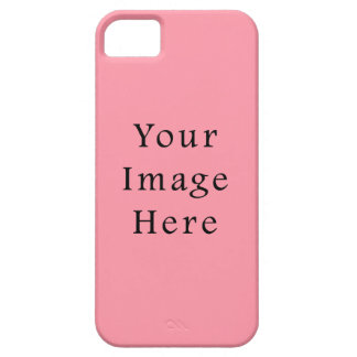 Bright Bubblegum Pink Color Trend Blank Template iPhone 5 Case