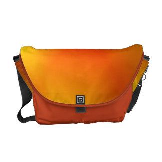 Bright Burnt Orange Messenger Bag