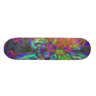 Bright Burst of Color – Salmon & Indigo Deva Skateboards