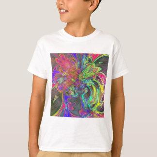 Bright Burst of Color – Salmon & Indigo Deva T Shirts