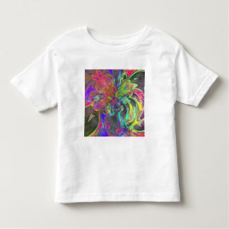 Bright Burst of Color – Salmon & Indigo Deva Tshirt