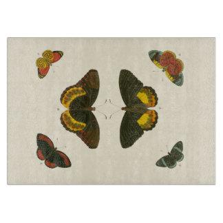 Bright Butterflies by Pieter Cramer Cutting Board