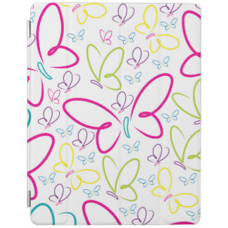 Bright butterflies iPad cover