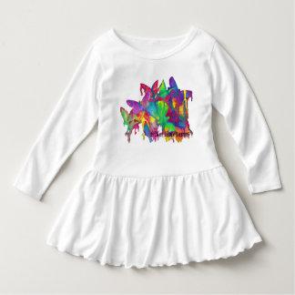 Bright Butterflies Toddler Dress