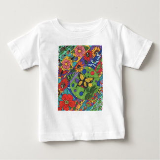 Bright Butterfly Flowers for Spring Tees
