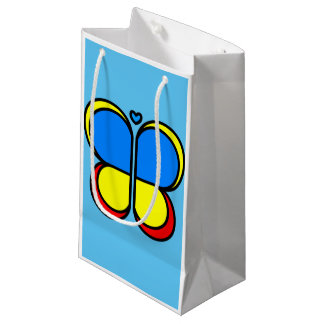 Bright Butterfly Gift Bag