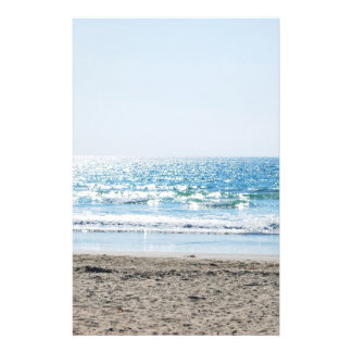 Bright California Beach - Blue Ocean Full Color Flyer