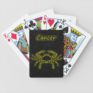 Bright Cancer Bicycle Playing Cards