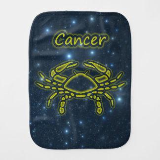 Bright Cancer Burp Cloth