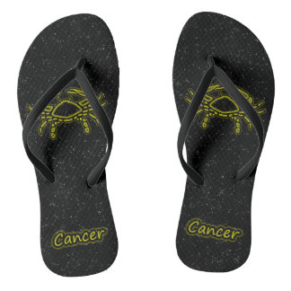 Bright Cancer Flip Flops
