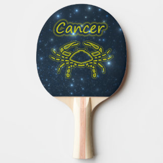 Bright Cancer Ping Pong Paddle