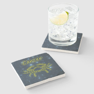 Bright Cancer Stone Coaster