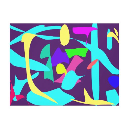 Bright Stretched Canvas Print
